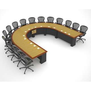 CUSTOM CONFERENCE TABLE--KHOMI