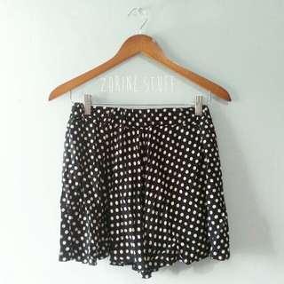 Rok polkadot skirt