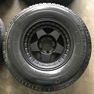 Rim 4x4 Raguna 16 inch with tyre
