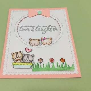 Birthday/Friendship Card-flip card