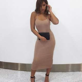 Nude dress new with tags  size 10 $80 plus shipping