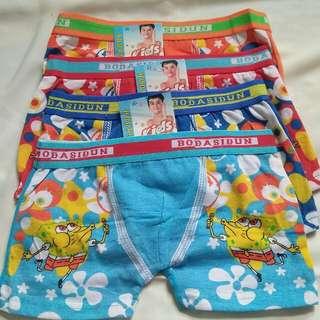 celana dalam boxer anak