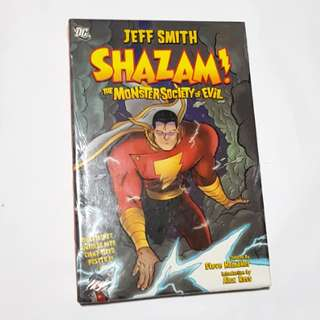 SHAZAM MONSTER SOCIETY OF EVIL DC COMICS