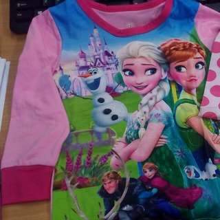 Pyjamas Frozen set