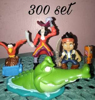 Jake and the pirate set