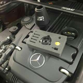 Turbo muffler delete for Benz