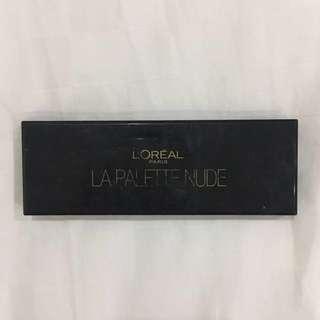 Loreal Nude Palette