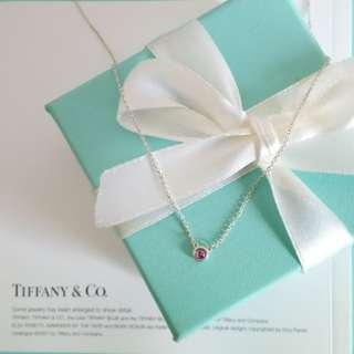 TlFFANY & Co. 紫色寶石項鍊