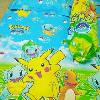 Sprei uk 120 + sarung bantal guling