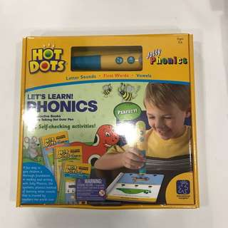 Hot Dots Jolly Phonics- Let's Learn Phonics