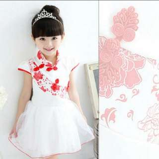 BN Qipao/Cheongsam cny girls dress