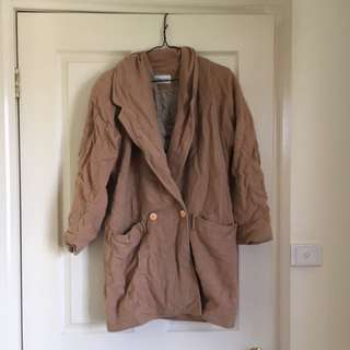 Brown women's jacket