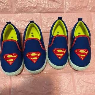 Instock superman kids shoe size 25/26 brand new