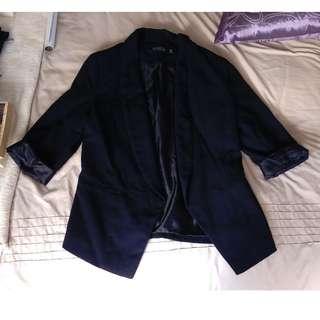 Black Blazer sz 10
