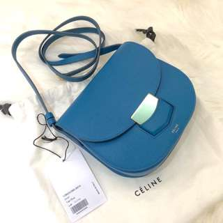 Celine Trotteur small crossbody in calf leather