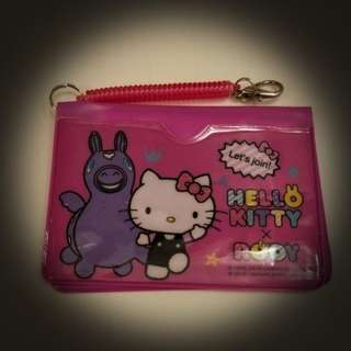 Authentic Sanrio Hello Kitty x Rody cards holder Pouch
