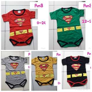 Superman rompers rm5