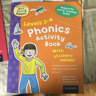 Oxford phonics activity book