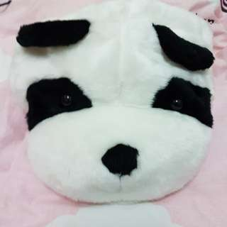 #大掃除五折  可愛熊貓頭套  兩個100元