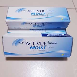 *NEW* 1-Day Acuvue Moist