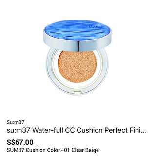 SU:M37 water -full CC cushion