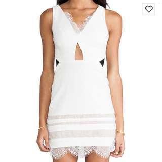 Authentic Three Floor White Isle Dress