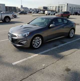 2013 Genesis coupe 2.0t automatic