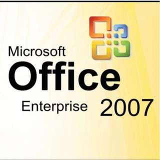 MS Office 2007 Corporate Edition (togather with visio n project)
