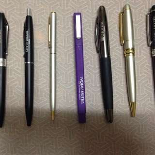 Hotel ball pens signpen ballpen black ink