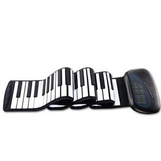 Flexible Roll Up Piano Soft Silicone Flexible Digital Music Piano