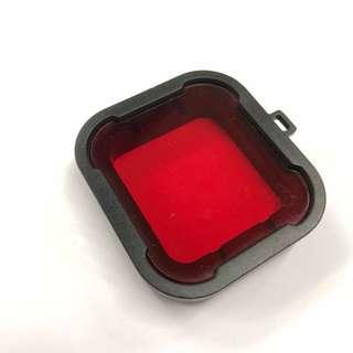 gopro hero4/3+ 紅色 紫色 濾鏡/鏡頭保護 潜水鏡 鏡頭蓋 gopro 配件