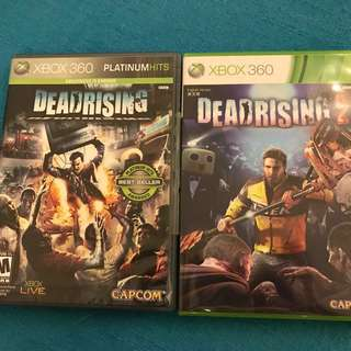 Xbox 360 Deadrising 1 & 2