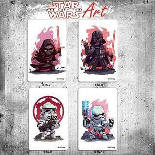 Custom E-money Flazz dan Brizzi card design Star Wars Art 2