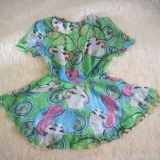 Beach Dress - Mini Dress