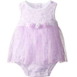 Vitamins baby girl bodysuits, 9-12 months