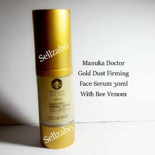 🆕Manuka Doctor Gold Dust Firming Serum With Bee Venom Face Facial Firm Lifting Skin Sellzabo