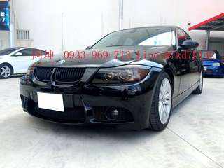 2007年  BMW 328i 有興趣+LINE:@fkd7014c 或來電 0933969713 阿坤