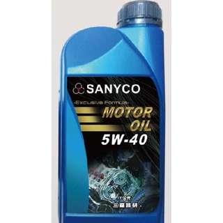 SANYCO 5W-40機油