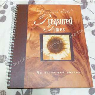 'Treasured Times' Photo Journal