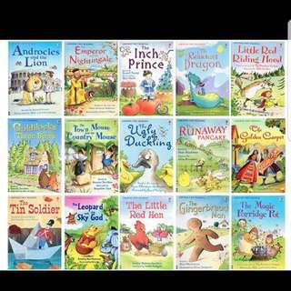 Usborne kids early childhood story books