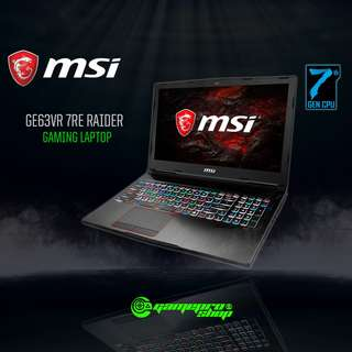 MSI GE63VR 7RE 218SG RAIDER (GTX1060 6GB GDDR5)