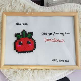 Valentines day handmade personalised gift