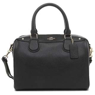 Authentic 💯 COACH Mini Bennett Satchel- Black