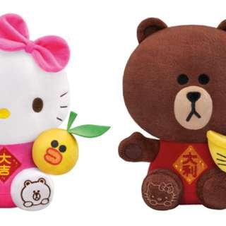 7-11 新年限定版 大吉大利 熊大kitty