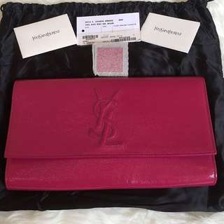 Ysl clutch authentic