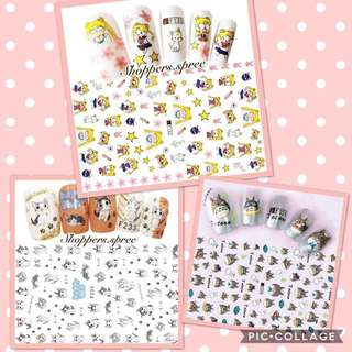 Nail Stickers 2018 limited edition (Japanese Anime Series)