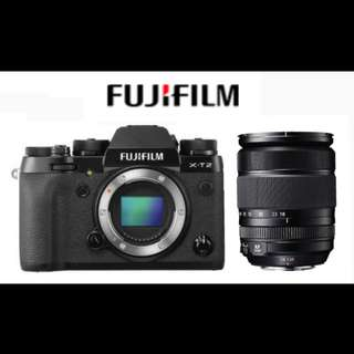 Fuji X-T2 BODY + XF 18-135mm Lens