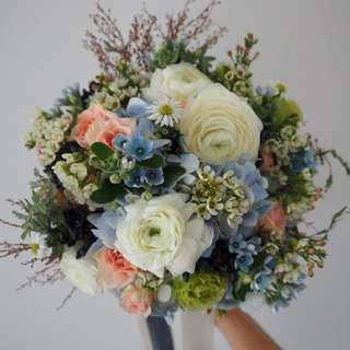 Bridal Bouquet / Wedding Flowers / ROM / Bouquets