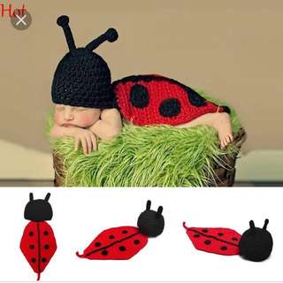 Laby bug Crochet Photo prop