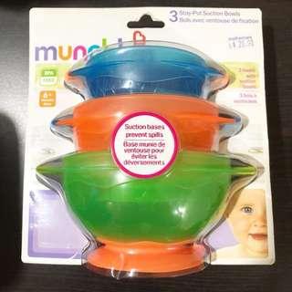 Munchkin Stay Put Suction Bowls 6m+